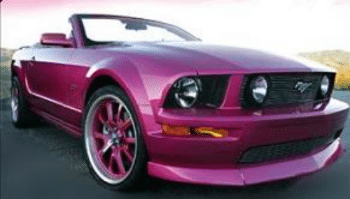 Kelly Clarkson Ford Mustang