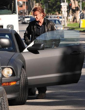 Sean Penn Ford Mustang