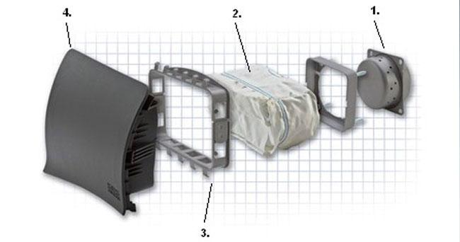 air bag components