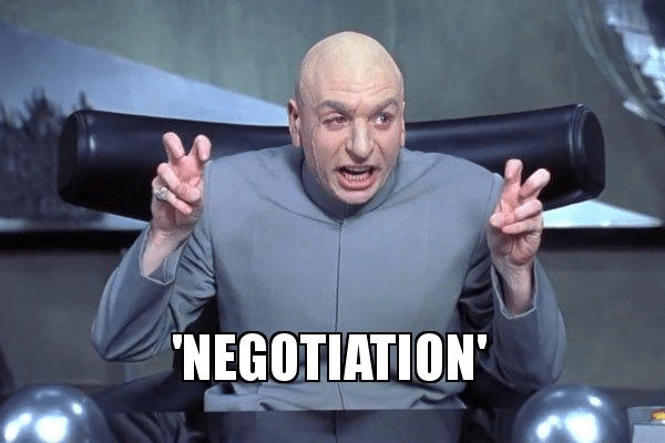 negotiation meme