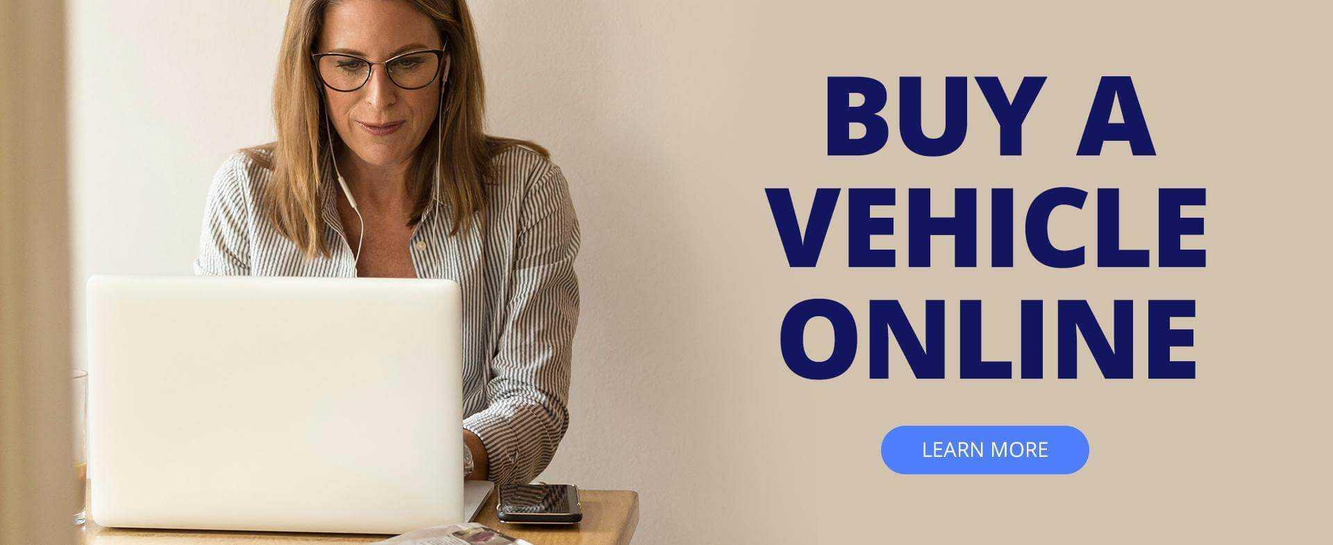 Buy a Vehicle Online