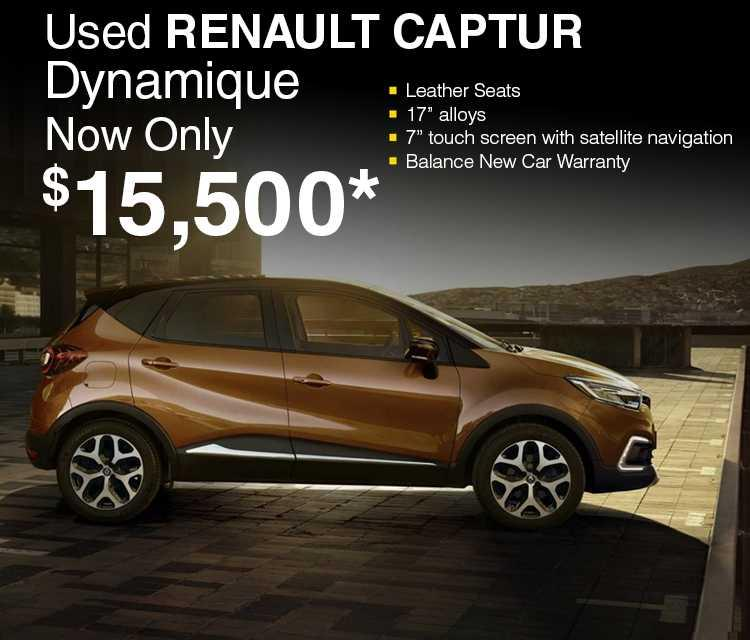 Used Captur slide