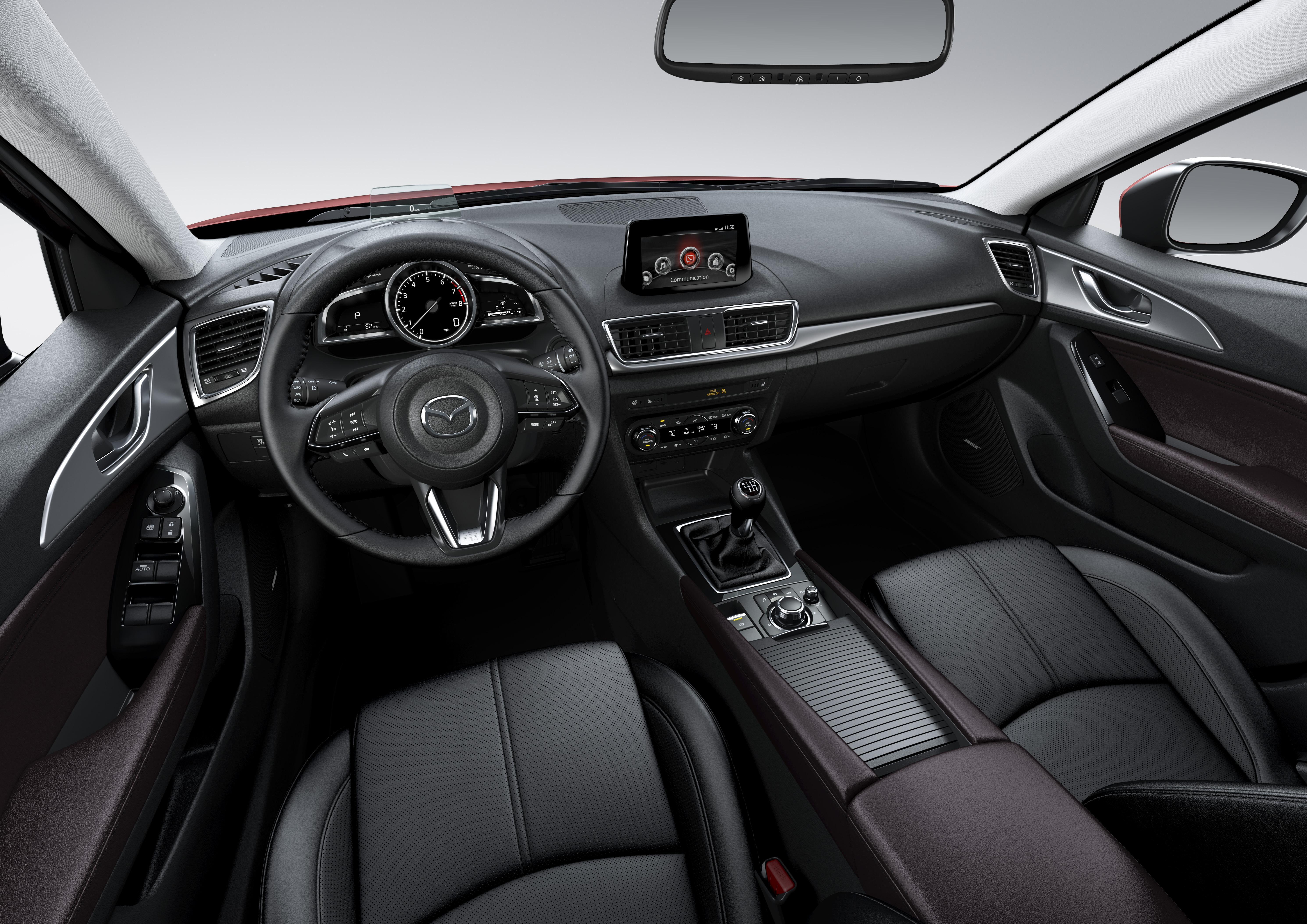 Learn about the Mazda3 at Moffatt's Mazda.