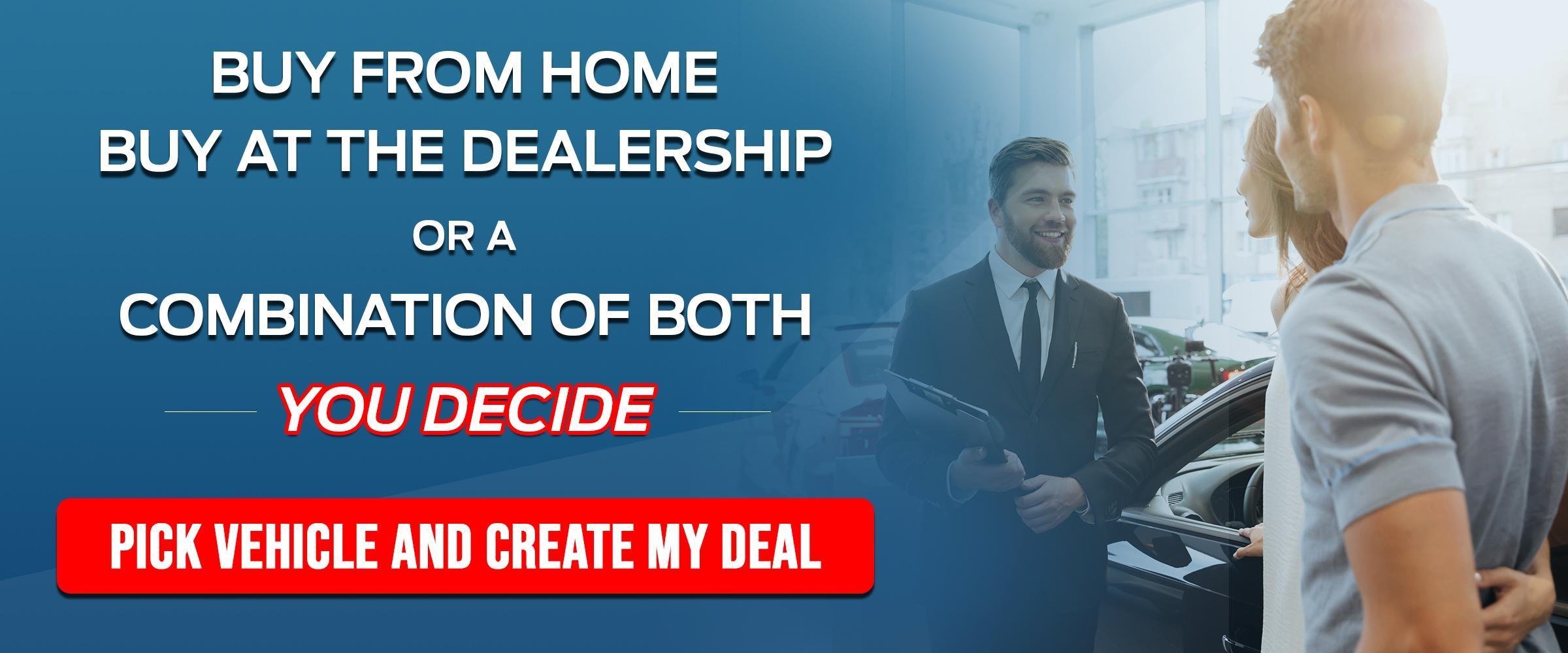 Buy From Home Banner