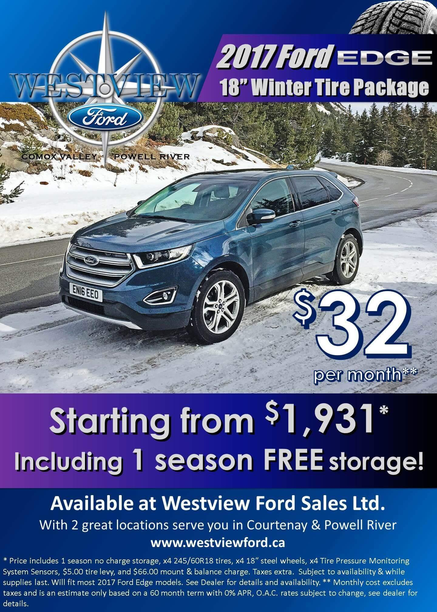 Edge Winter Safety Package Westview Ford