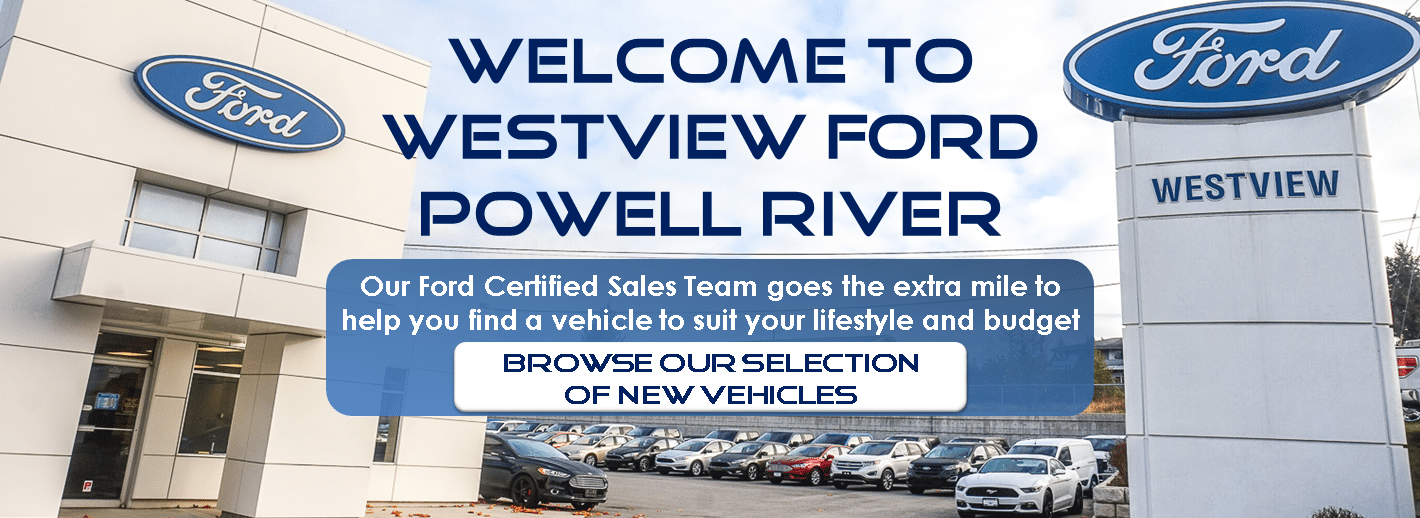 New Ford Vehicles in Powell River BC