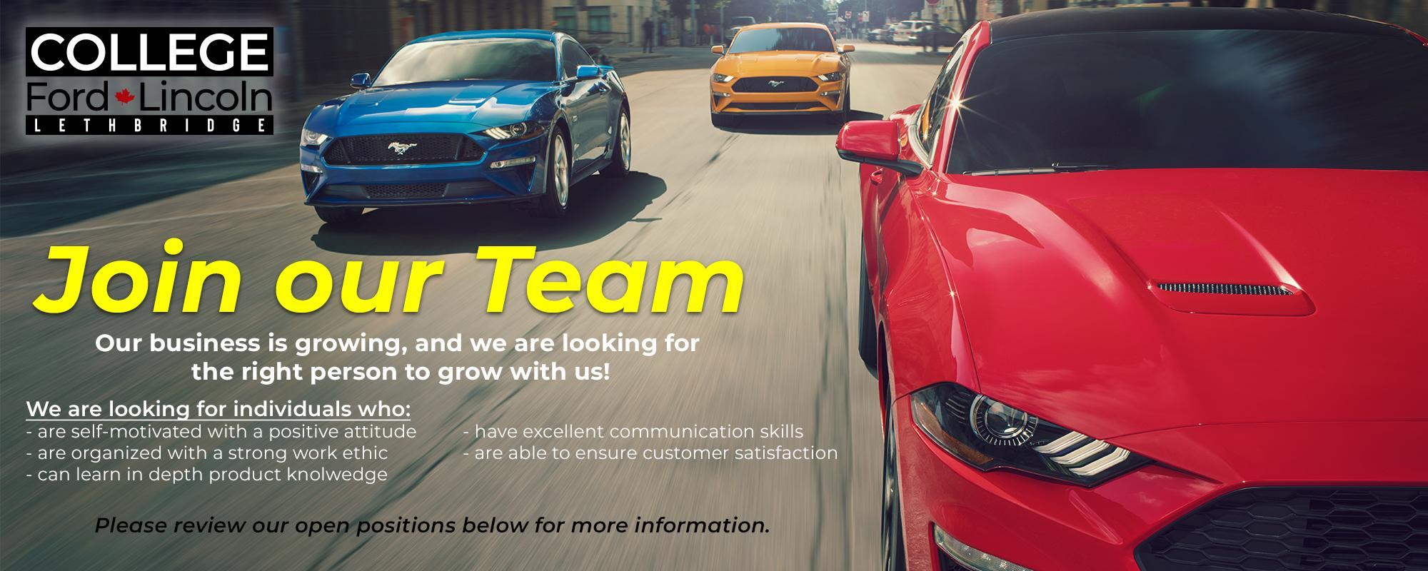 Ford Employment Opportunities image