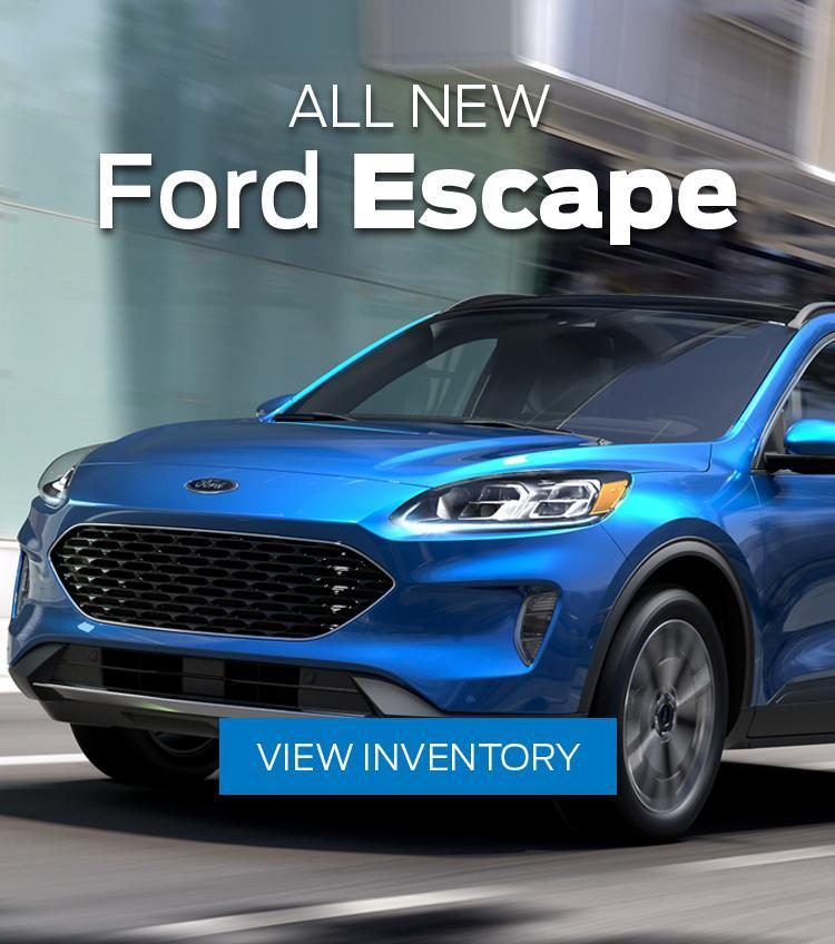 All New Ford Escape