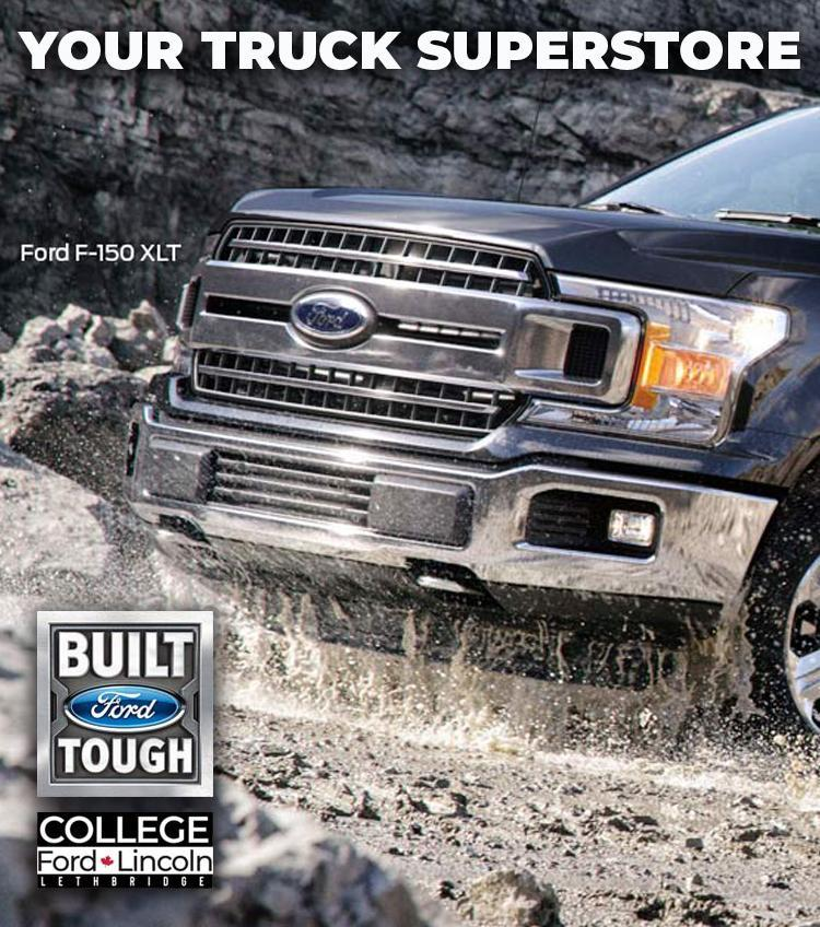 Your Truck Superstore Ford F-150 College Ford Lincoln