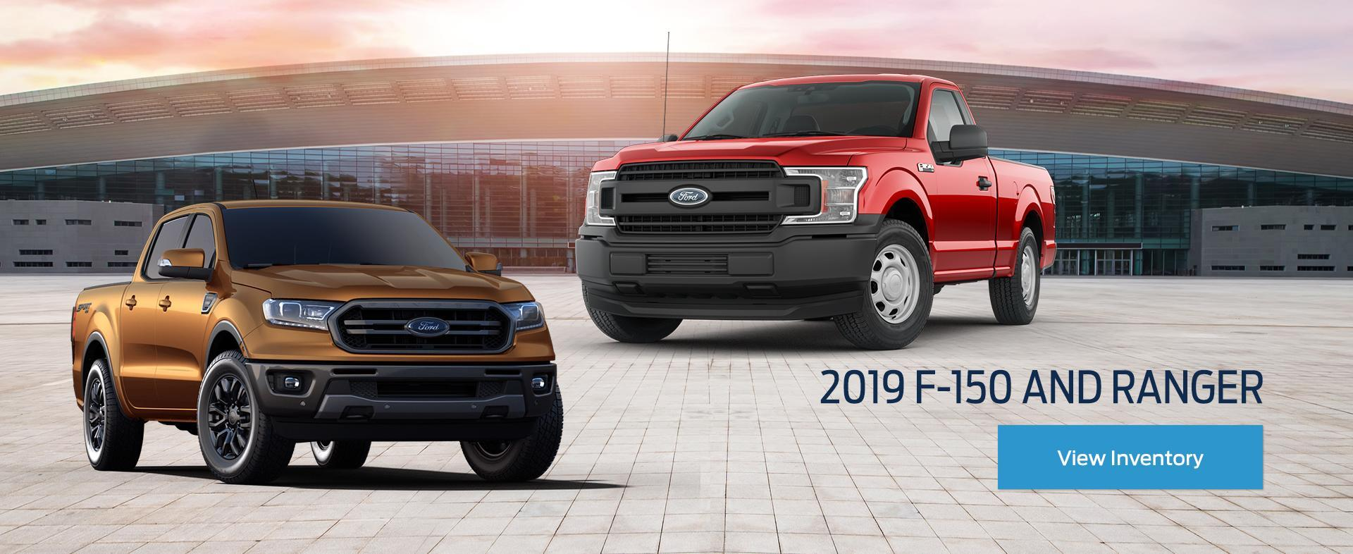 Ford Home 2019 Ford F-150 and Ranger
