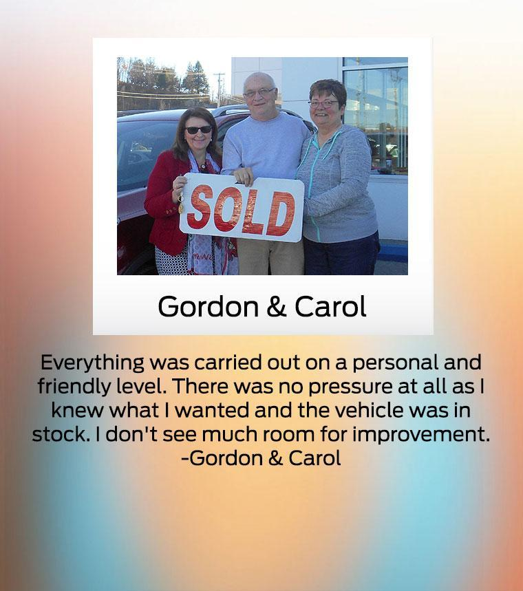 Ford Home Gordon and Carol