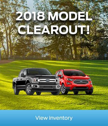 2018 model clearout