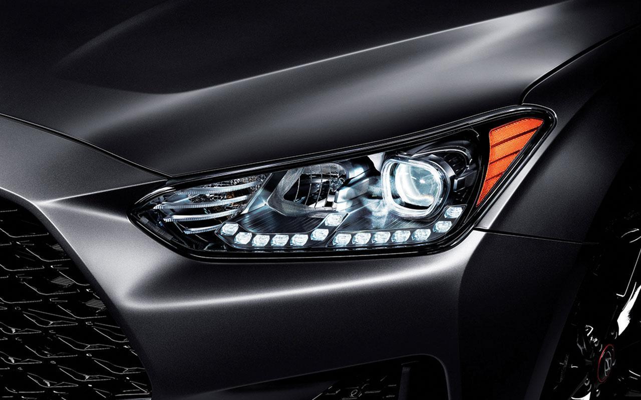 New 2020 Gray Hyundai Veloster Front lights