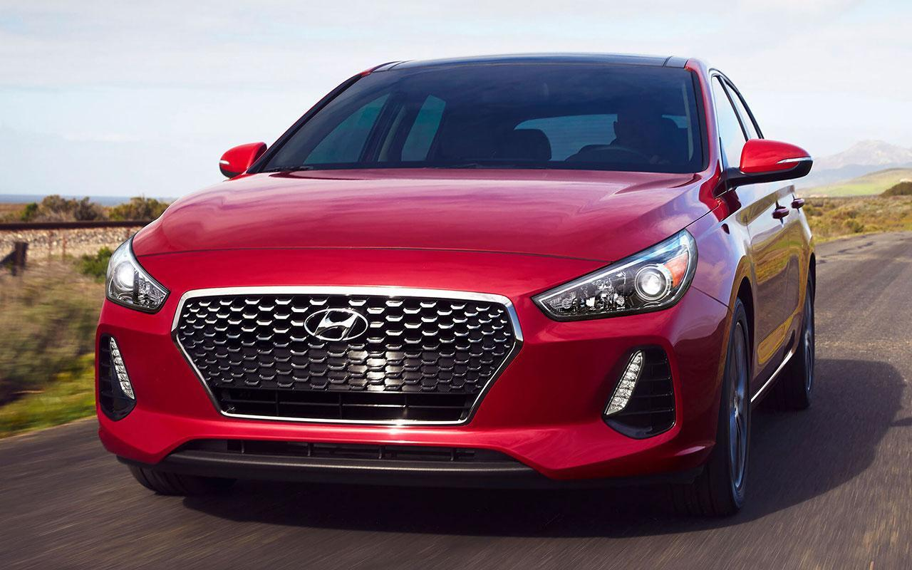 New 2020 Red Hyundai Elantra GT