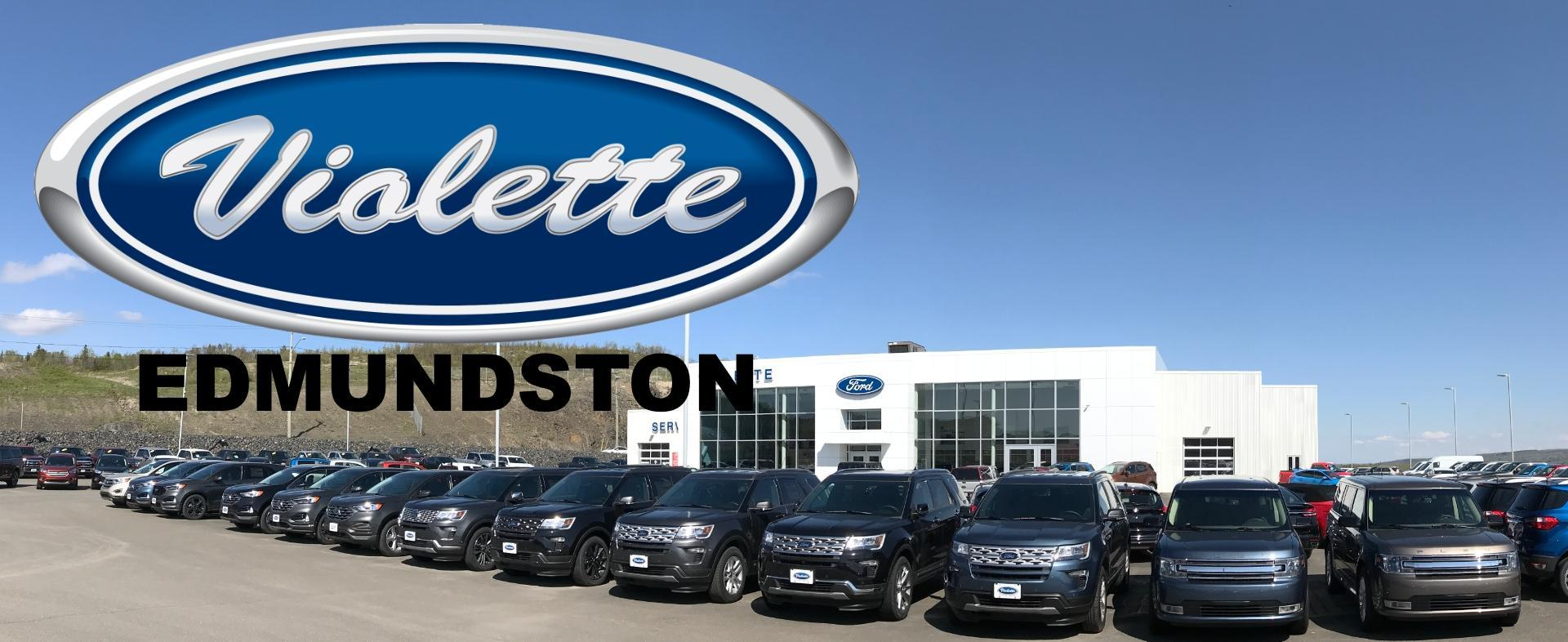 New & Used Ford Cars, Trucks & SUVs Dealership in Edmundston, NB