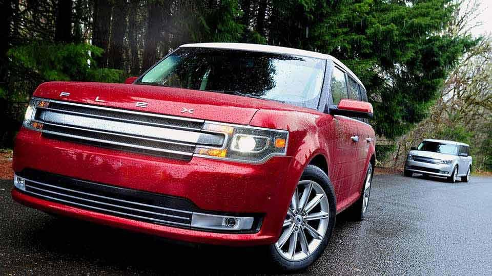 2017 Ford Flex Limited in Ruby Red