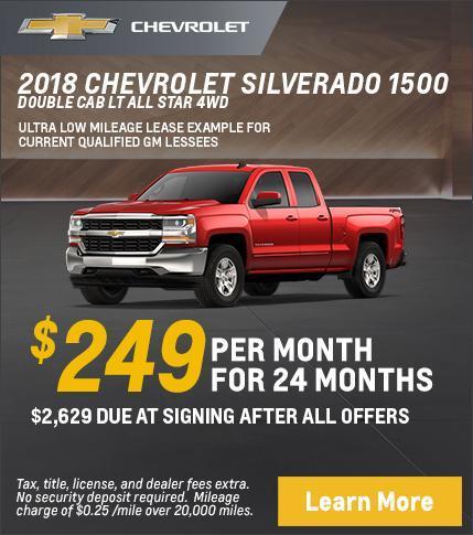 Silverado Lease Offer