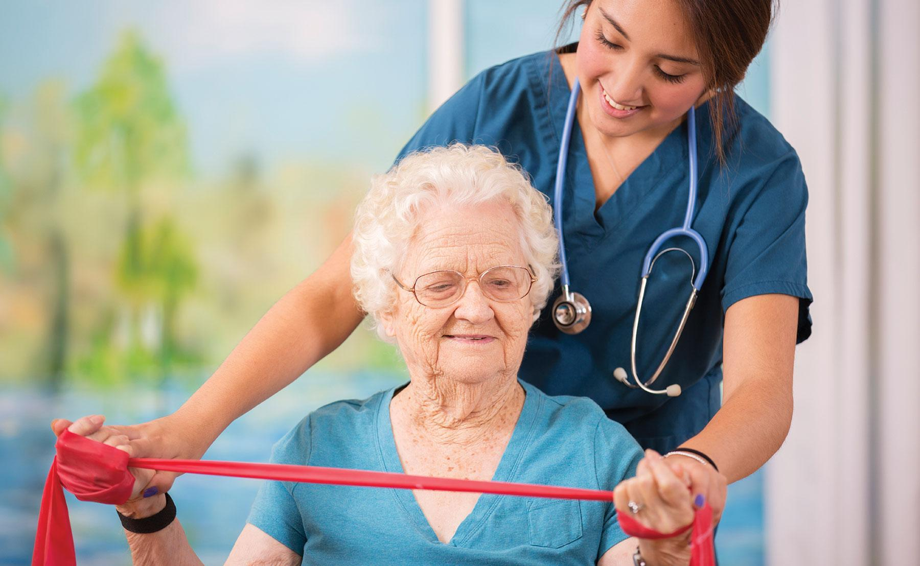 Senior Citizen Rehabilitation Moves