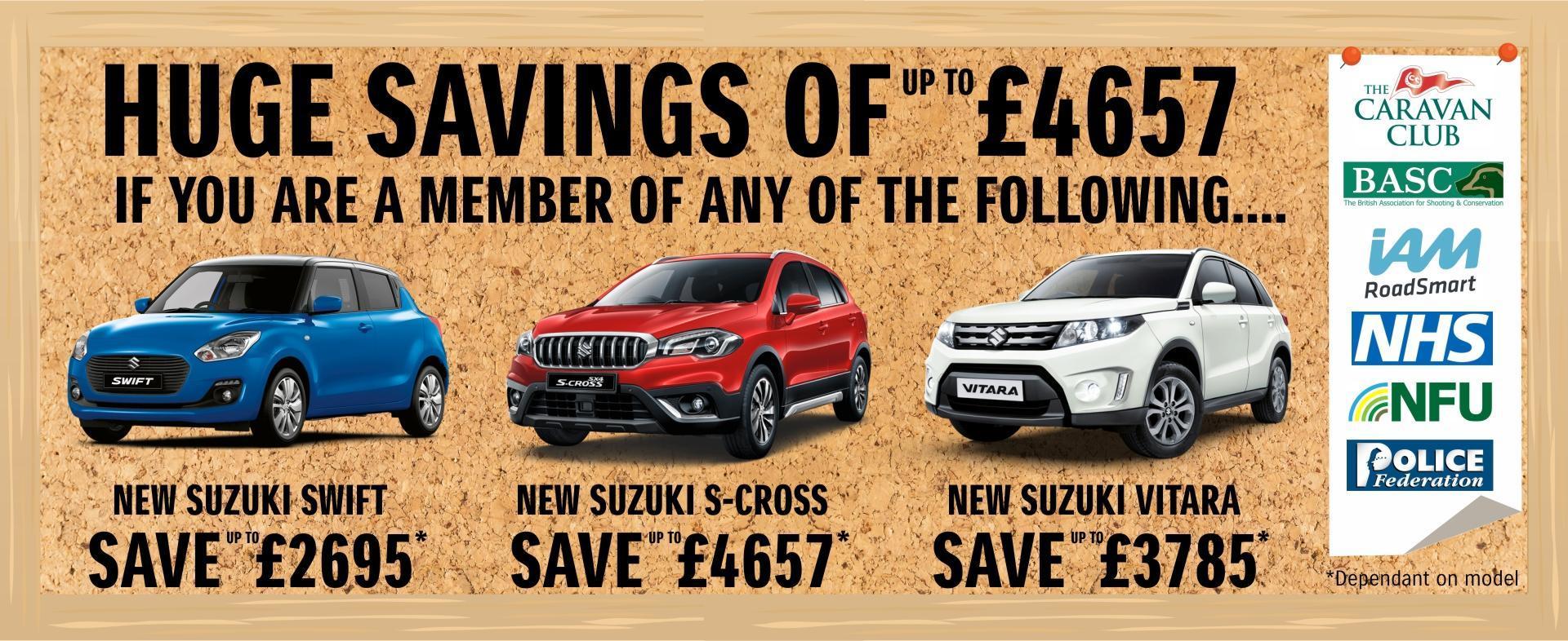 Suzuki Affinity Offers
