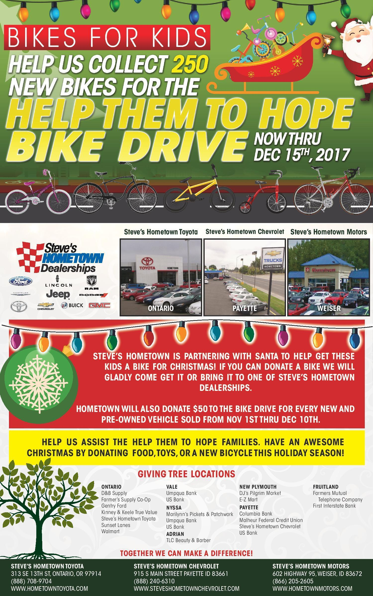 Hometown Toyota Bike Drive