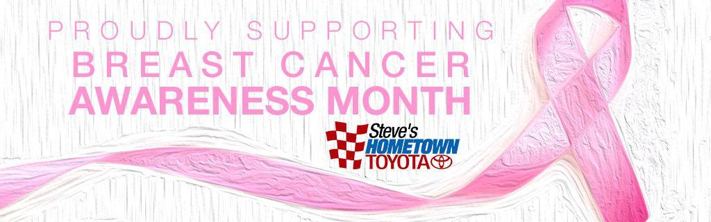 Hometown Toyota Supports Breast Cancer Awareness