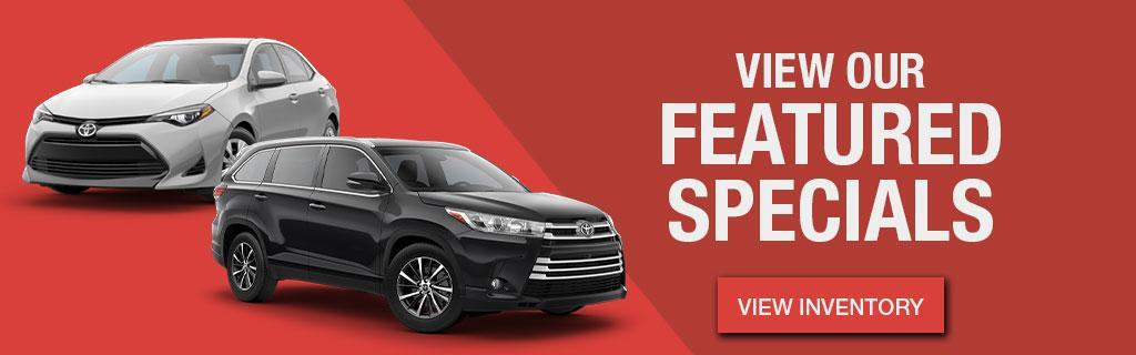 Hometown Toyota Featured Specials