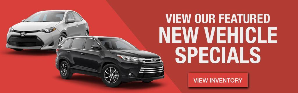 Hometown Toyota New Vehicle Specials
