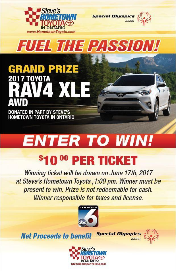 Enter to Win this RAV4
