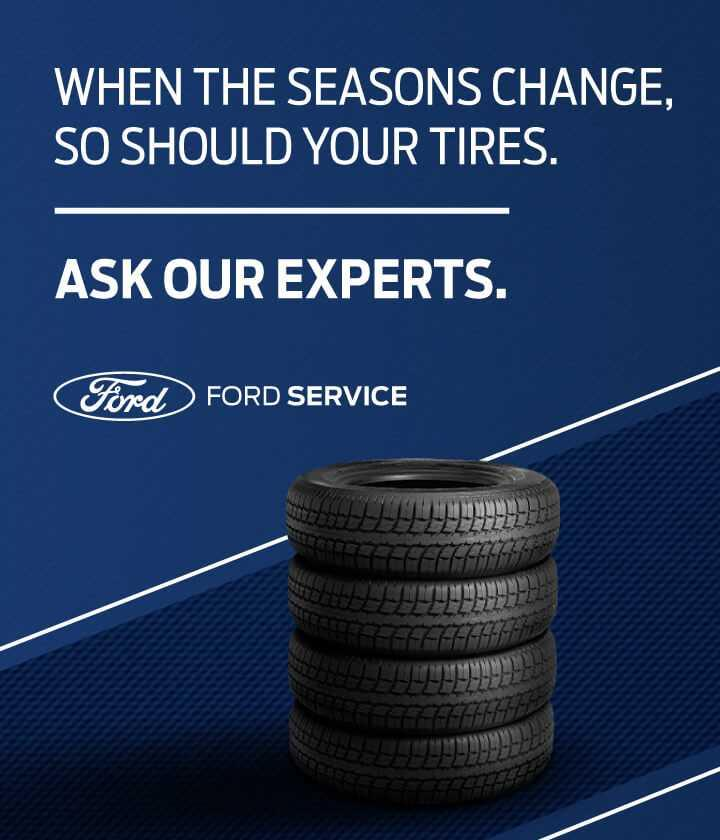 When the seasons change, so should your tires. Ask our experts.