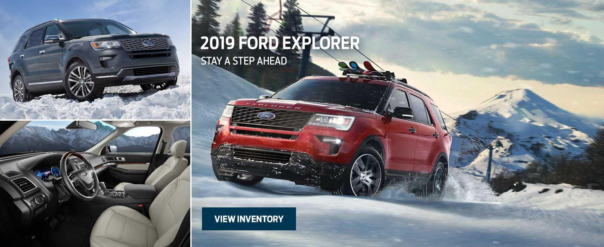 Ford & Lincoln Home 2019 Explorer