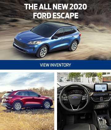 Ford & Lincoln Home 2020 Ford Escape
