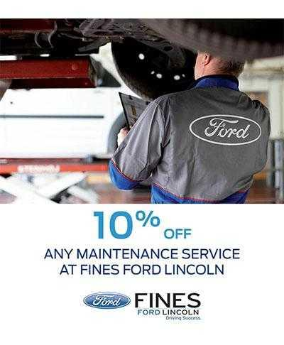 Ford & Lincoln Service Offers image