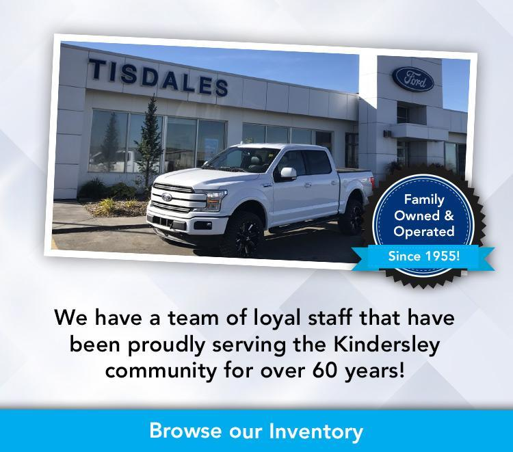 Welcome to Tisdales! Ford Dealership Kindersley