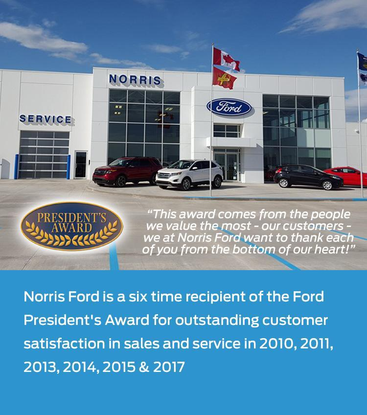 Welcome to Norris Ford Wainwright AB