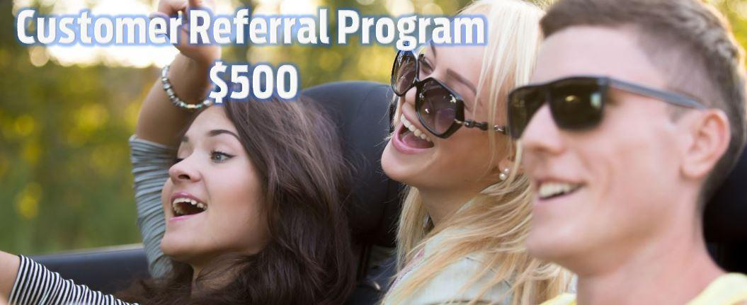 Customer Referral Program at Norris Ford