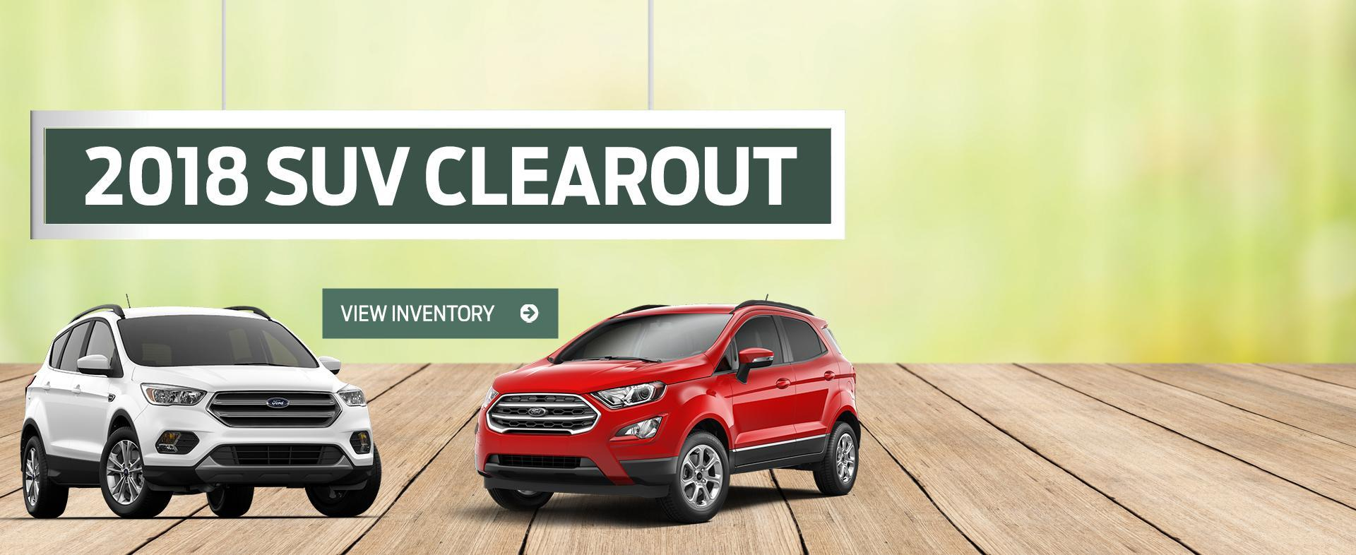Ford Home 2018 Clearout