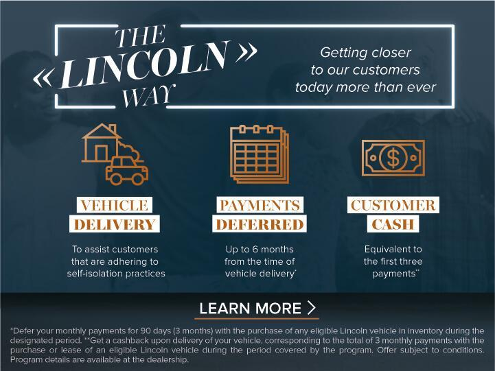 The Lincoln Way | Dams Lincoln of Surrey