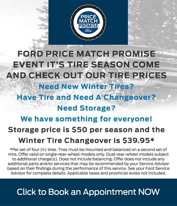 Ford Tire Price Match