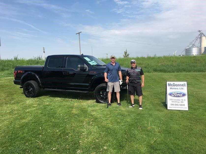 McDonnell Motors Sponsors North Middlesex Junior C Golf Tournament