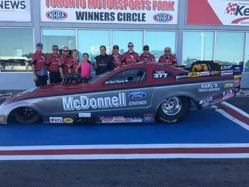 McDonnell Motors Sponsors Paul Noakes Racing Team