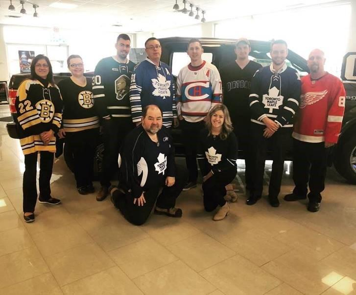 McDonnell Motors Supports Jersey Day in Honour of the Humboldt Broncos