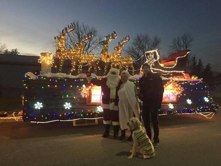 Parkhill Santa Clause