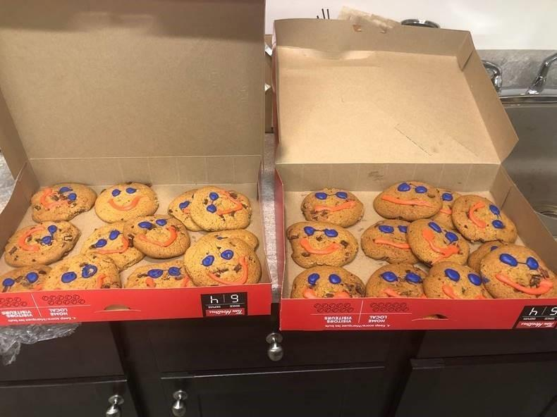 Smile Cookies at the Dealership to Support the North Middlesex YMCA