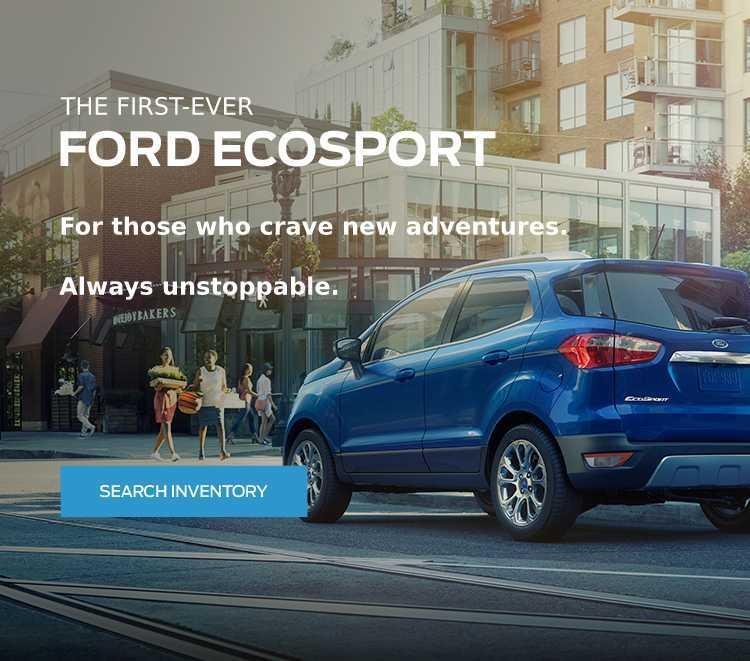 All-new 2018 EcoSport Glenoak Ford Westshore Victoria BC