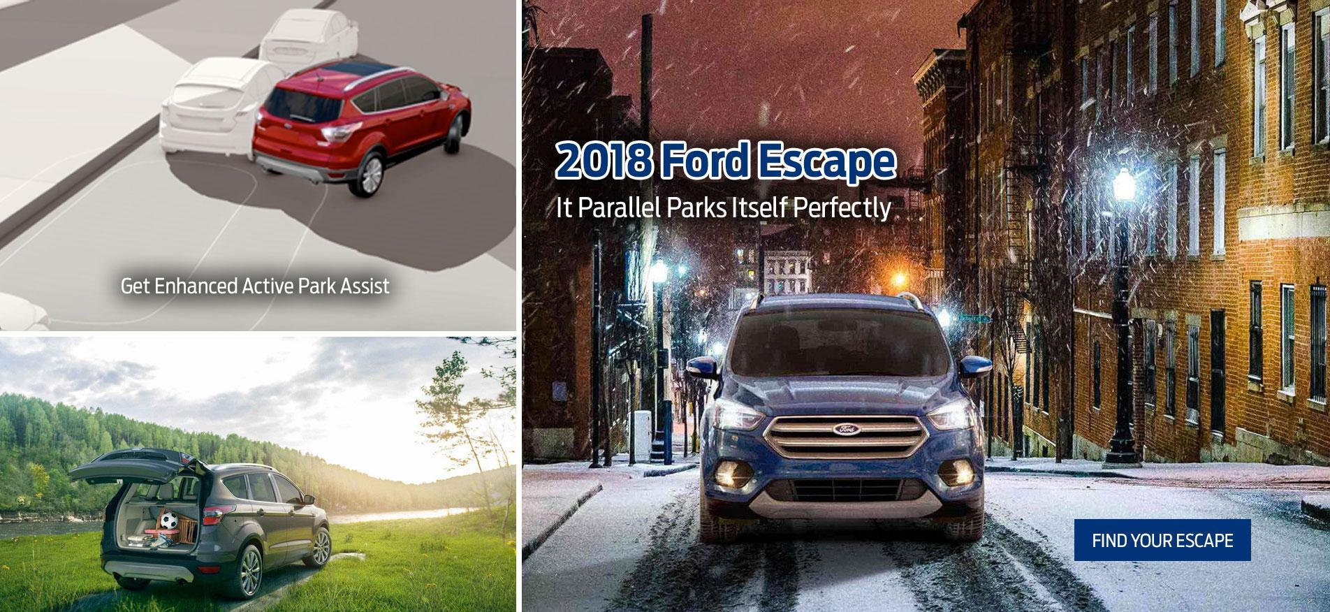 Escape 2018 Ocean Park Ford Sales