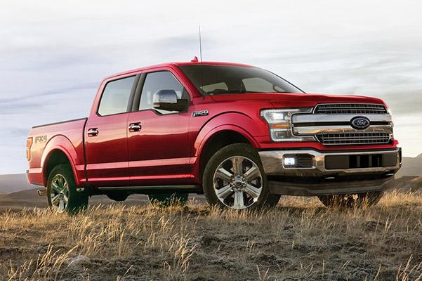 Profile view of 2020 Ford F-150 SuperCrew