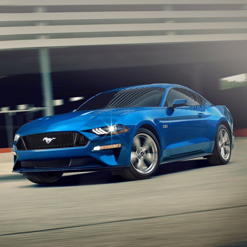 Ford Mustang Engine & Horsepower