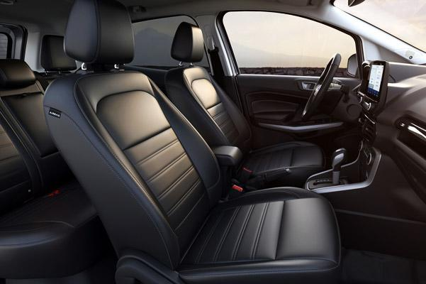 2020 Ford EcoSport Interior & Technology