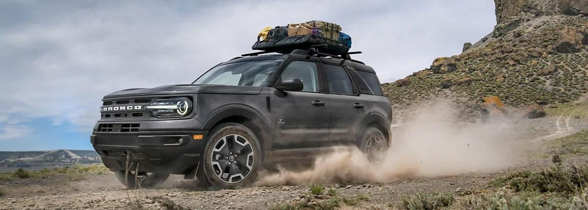 2021 Ford Bronco Sport on dirt road
