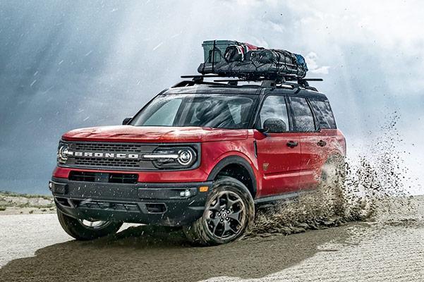 2021 Ford Bronco Sport on sand